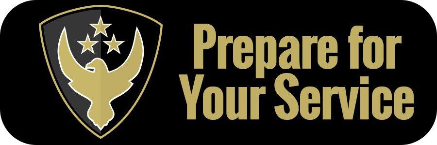 PrepareForYourService